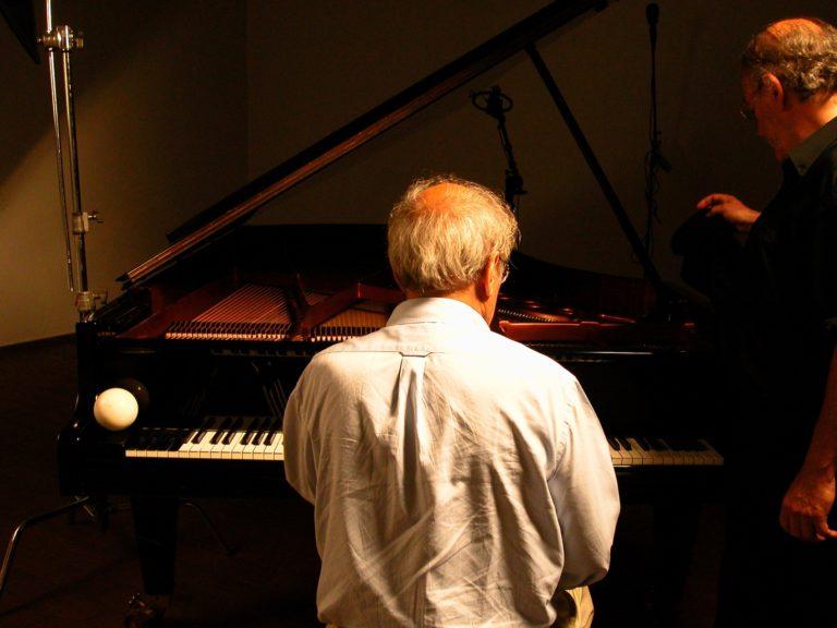 Pere Portabella Carles Santos piano Visca el piano no al no